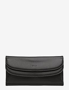 Sylvi Maxi Trifold Wallet - BLACK/BLACK
