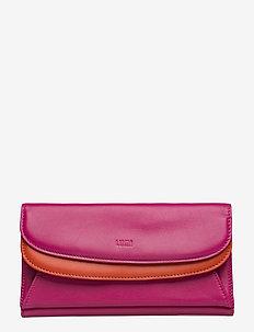 Sylvi Maxi Trifold Wallet - PINK/CORAL
