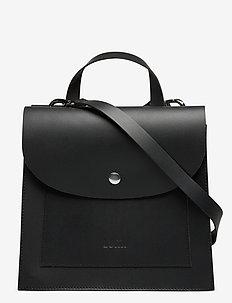 LAURITA MEDIUM HANDBAG - handväskor - black