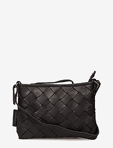 TOARIE SMALL WOVEN CLUTCH - BLACK