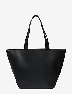 ALMA EAST-WEST TOTE - fashion shoppers - black
