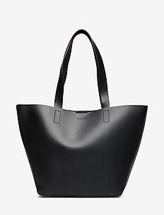 ALMA EAST-WEST TOTE WITH POUCH - fashion shoppers - black