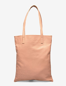 LEENAA4 TOTE - fashion shoppers - beige