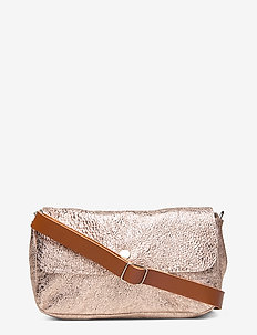 FELICIA POCKET BAG - PINK GOLD/BROWN