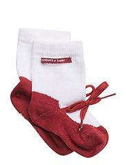 Sock, Ballerina - RED