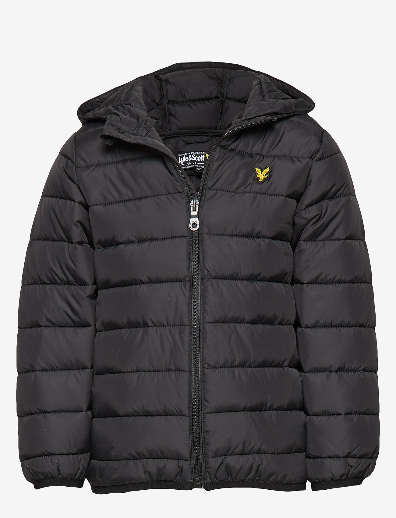 Lyle & Scott Junior - Lightweight Puffa Jacket - puffer & padded - black - 0