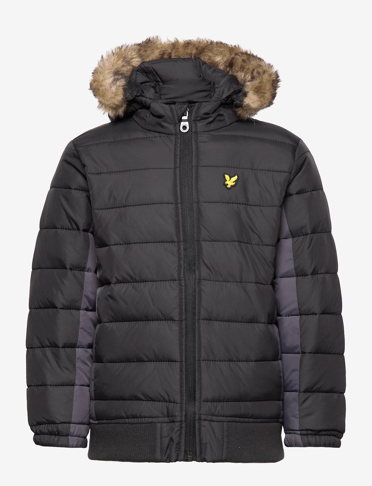 Lyle & Scott Junior - Light Weight Colour Block Jacket - puffer & padded - black - 1
