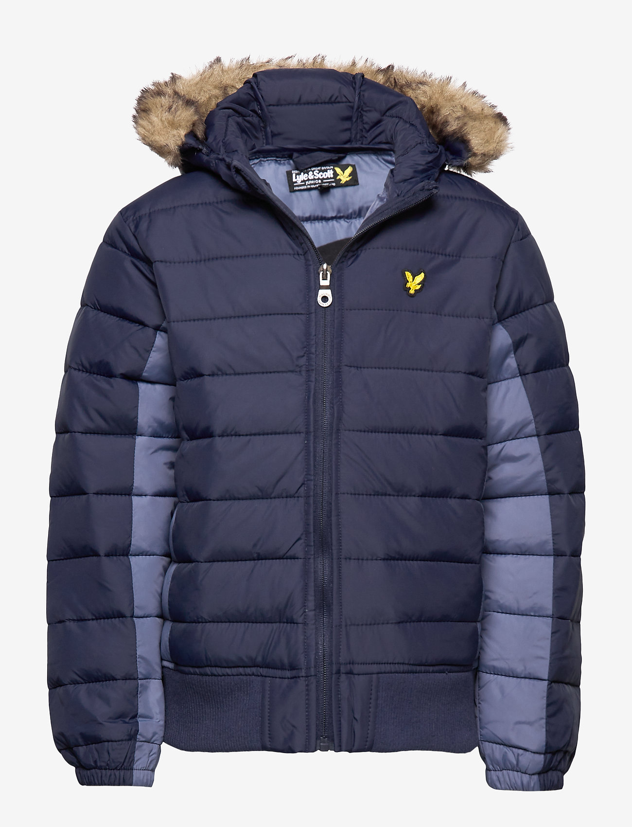 Lyle & Scott Junior - Light Weight Colour Block Jacket - puffer & padded - navy blazer - 0