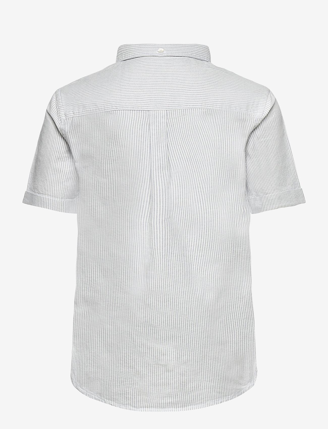 Lyle & Scott Junior - Fine Stripe SS Shirt - overhemden - sky blue - 1