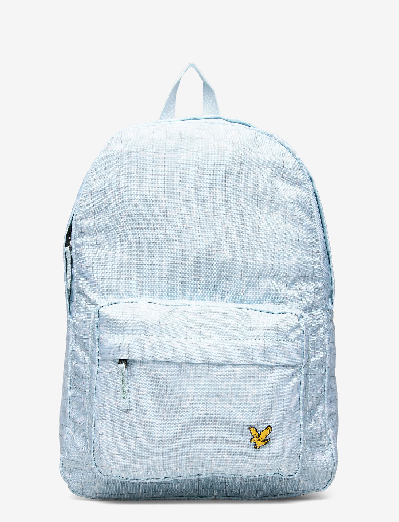 Lyle & Scott Junior - Pool Print Back Pack Blue Shore - backpacks - blue shore - 1