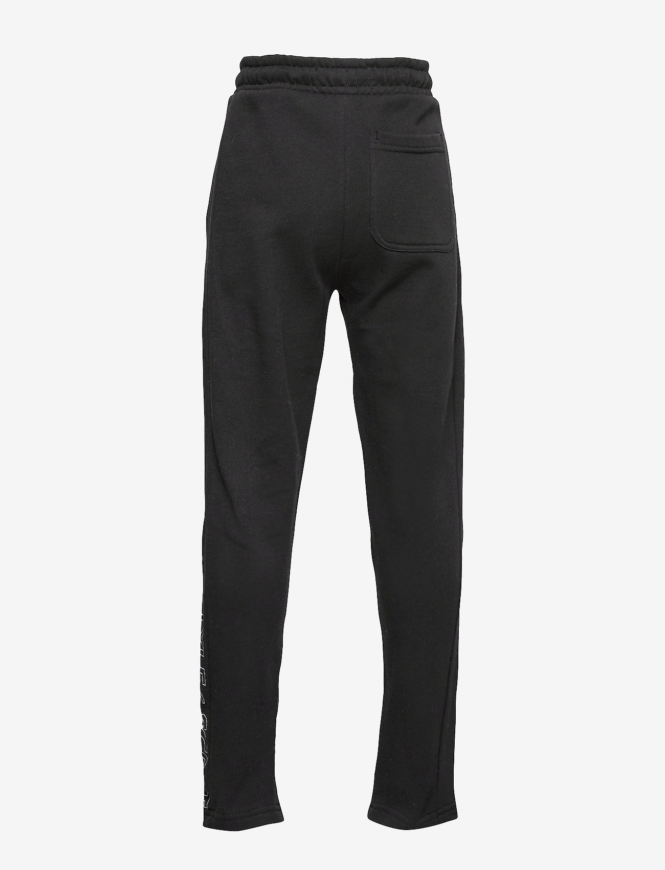 Lyle & Scott Junior - Zip Hem Block Logo Jogger - sweatpants - black - 1