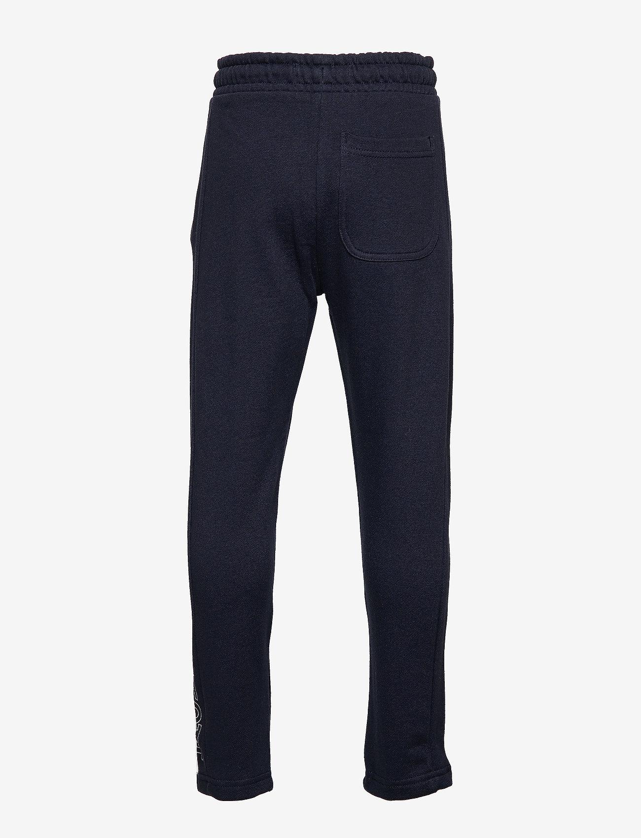 Lyle & Scott Junior - Zip Hem Block Logo Jogger - sweatpants - navy blazer - 1