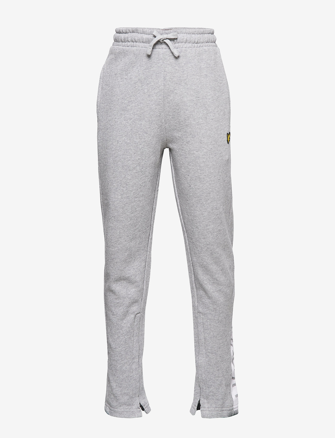 Lyle & Scott Junior - Zip Hem Block Logo Jogger - sweatpants - vintage grey heather - 0