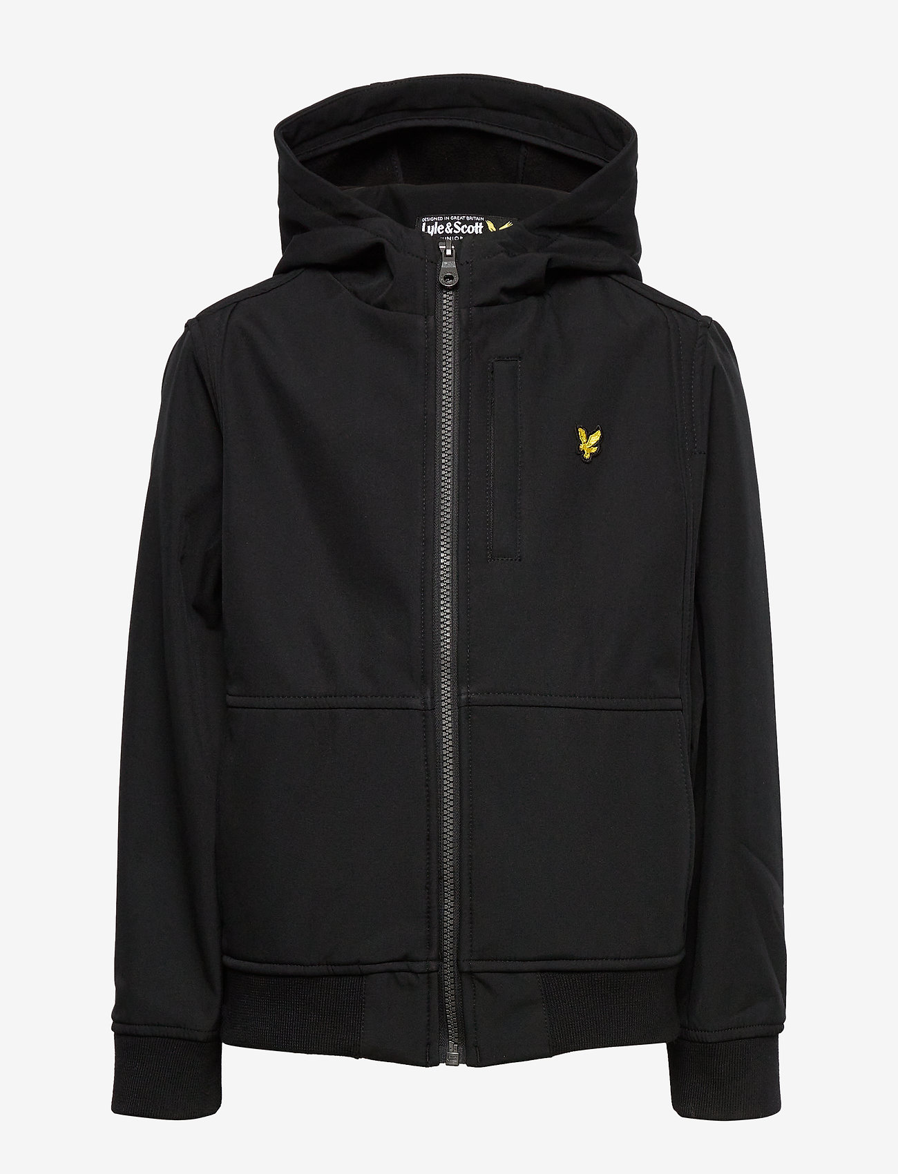 Lyle & Scott Junior - Soft Shell Jacket - kapuzenpullover - black - 1