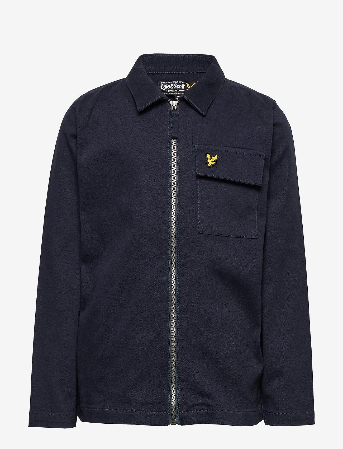Lyle & Scott Junior - Oxford Long Sleeve Shirt Navy Blazer - bleiserit - navy blazer - 0