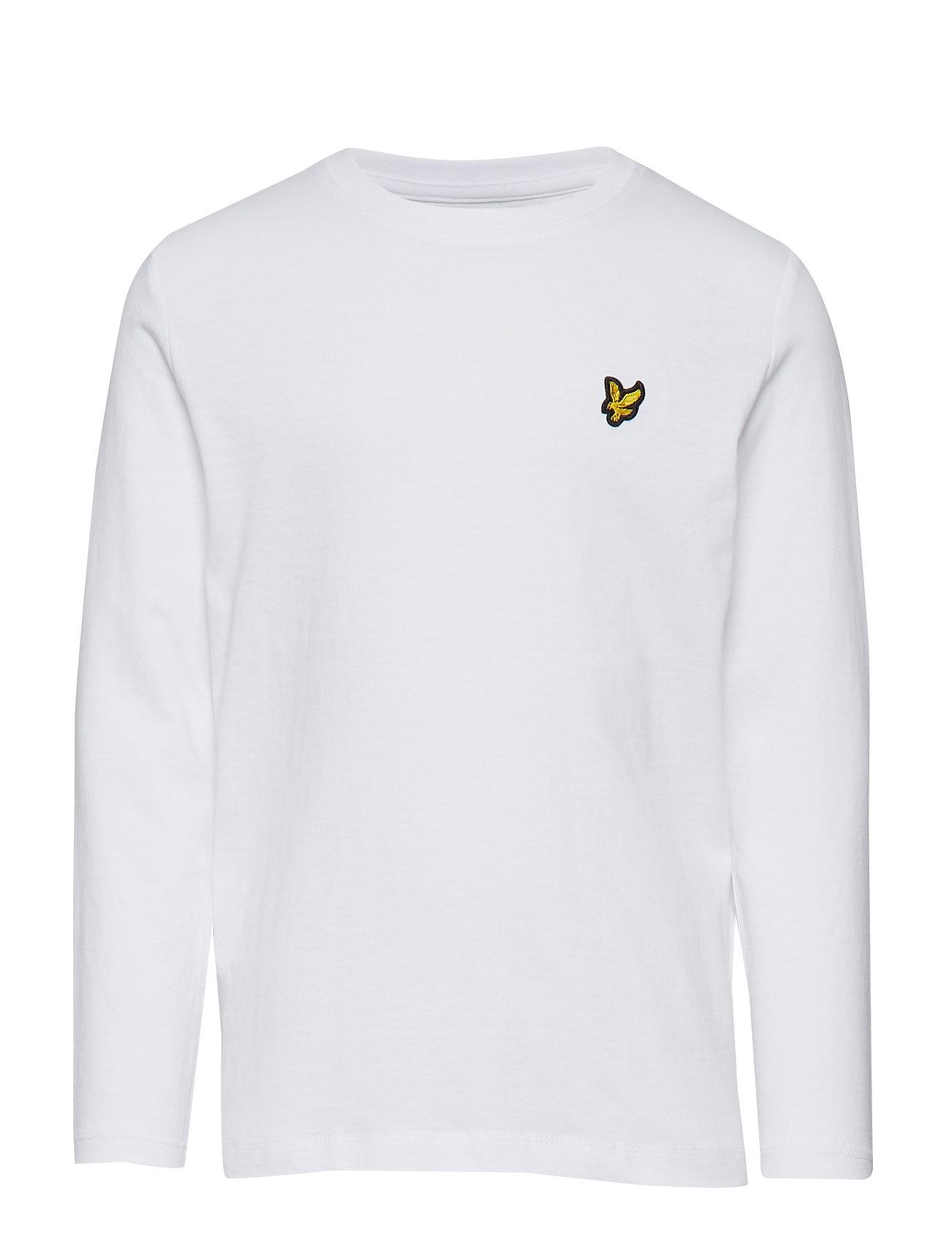 Lyle & Scott Junior Classic L/S T-Shirt - BRIGHT WHITE
