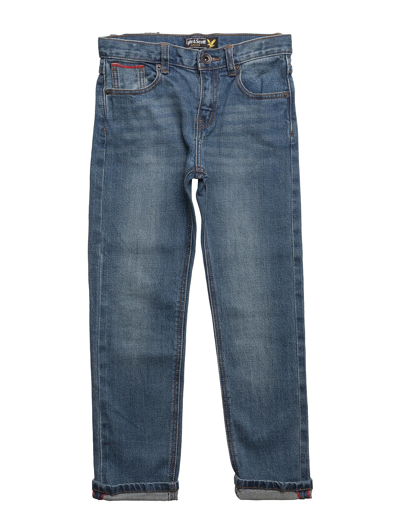 Lyle & Scott Junior Classic Slim Fit Jean - LIGHT WORN