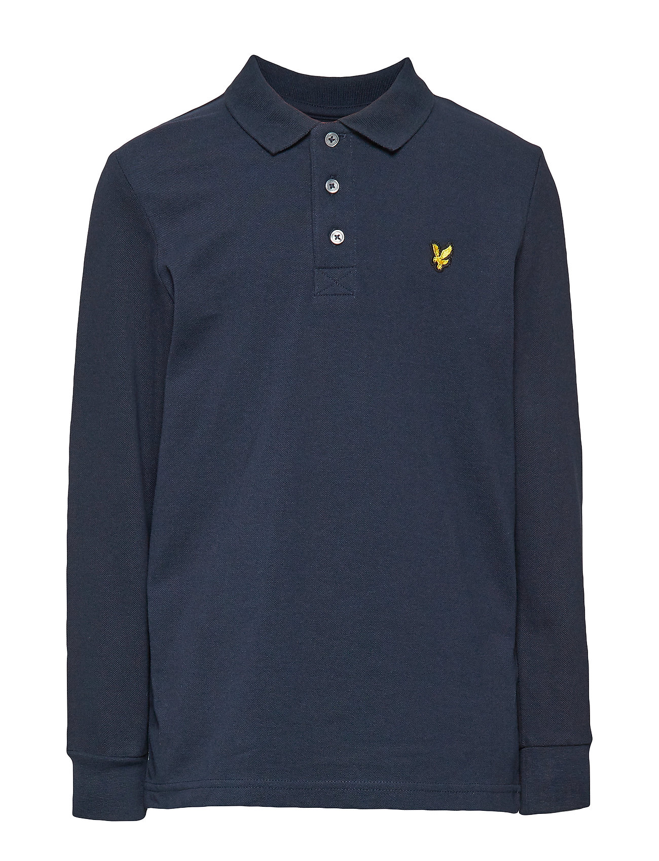 Lyle & Scott Junior Classic  L/S Polo - NAVY BLAZER