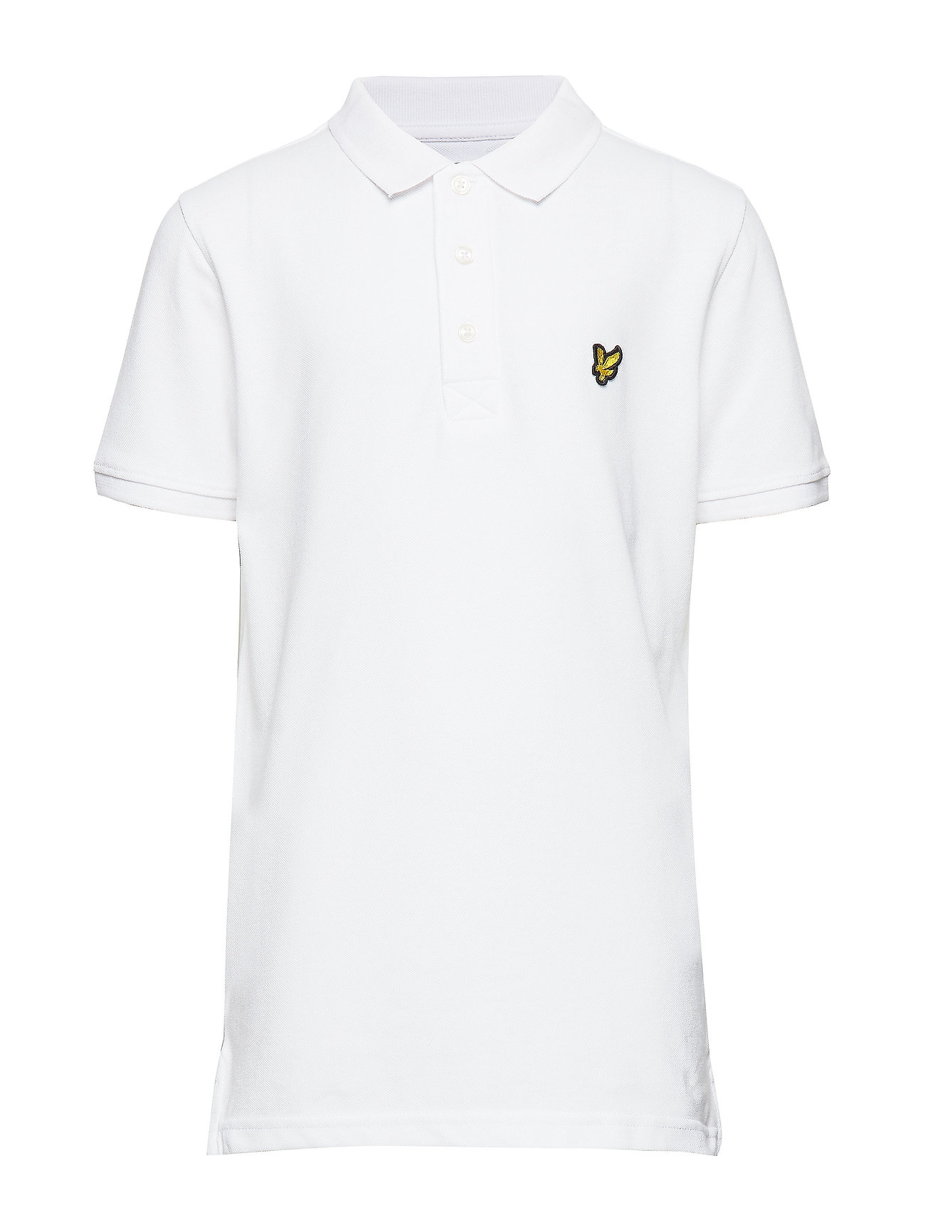 Lyle & Scott Junior Classic Polo Shirt - BRIGHT WHITE