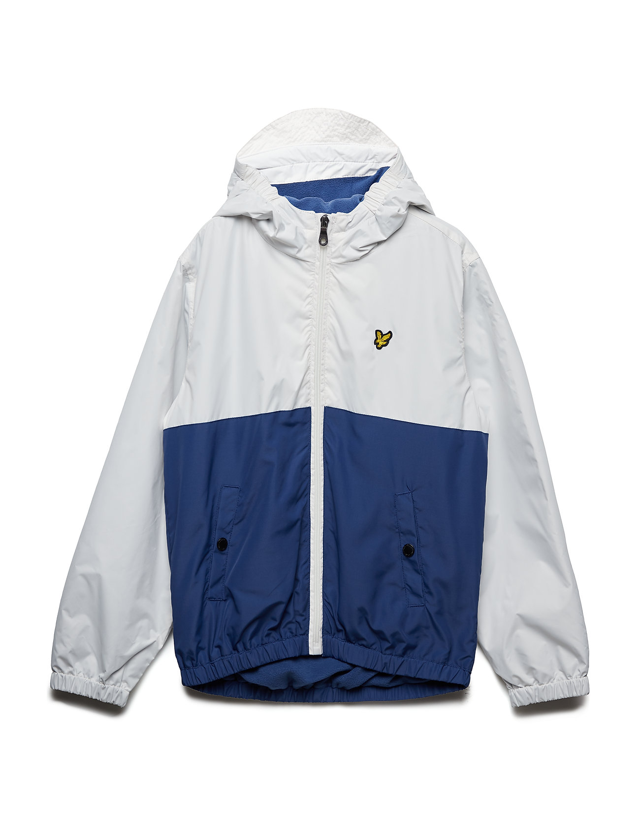 Lyle & Scott Junior Colour Block Jacket - SEASHELL WHITE