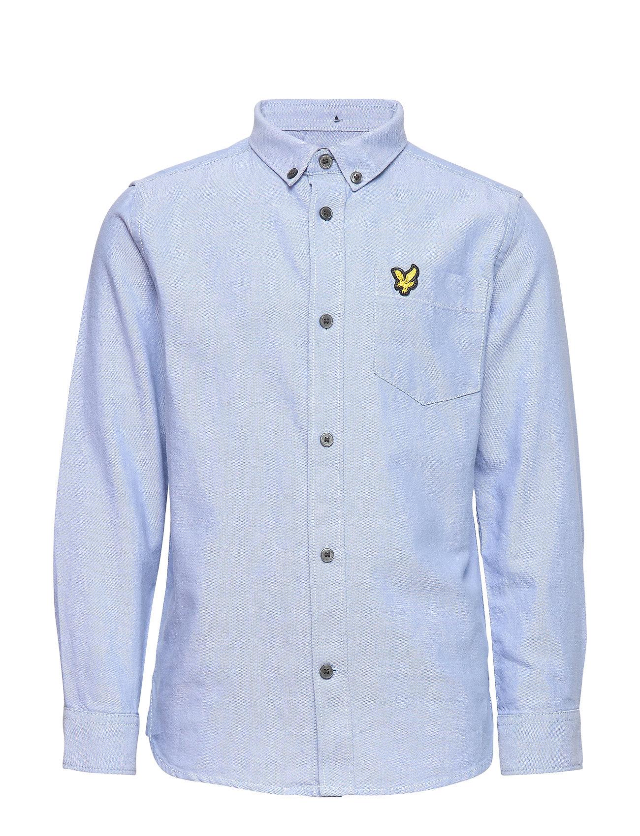 Lyle & Scott Junior Oxford Shirt LS - SKY BLUE