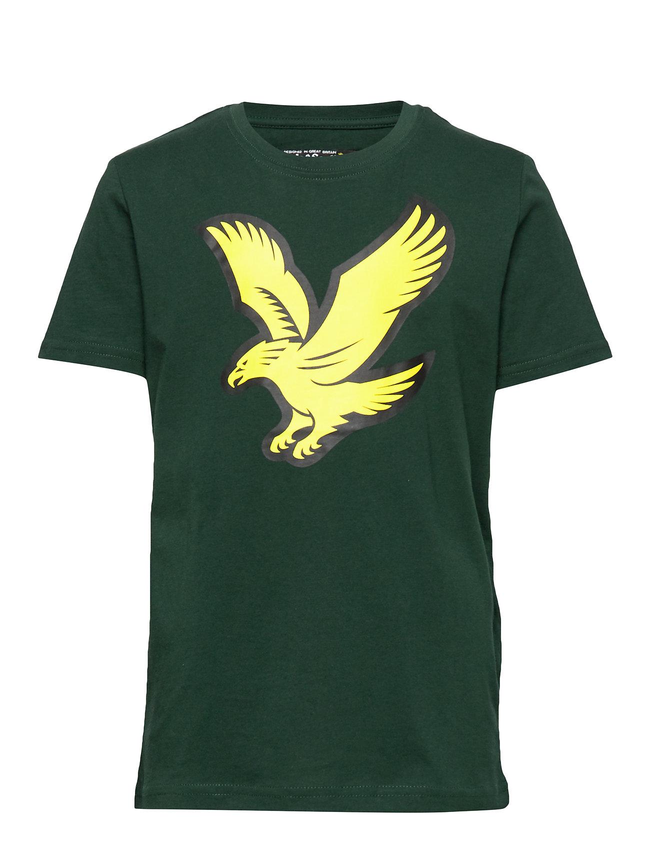 Lyle & Scott Junior Eagle Logo T-Shirt - PINE GROVE