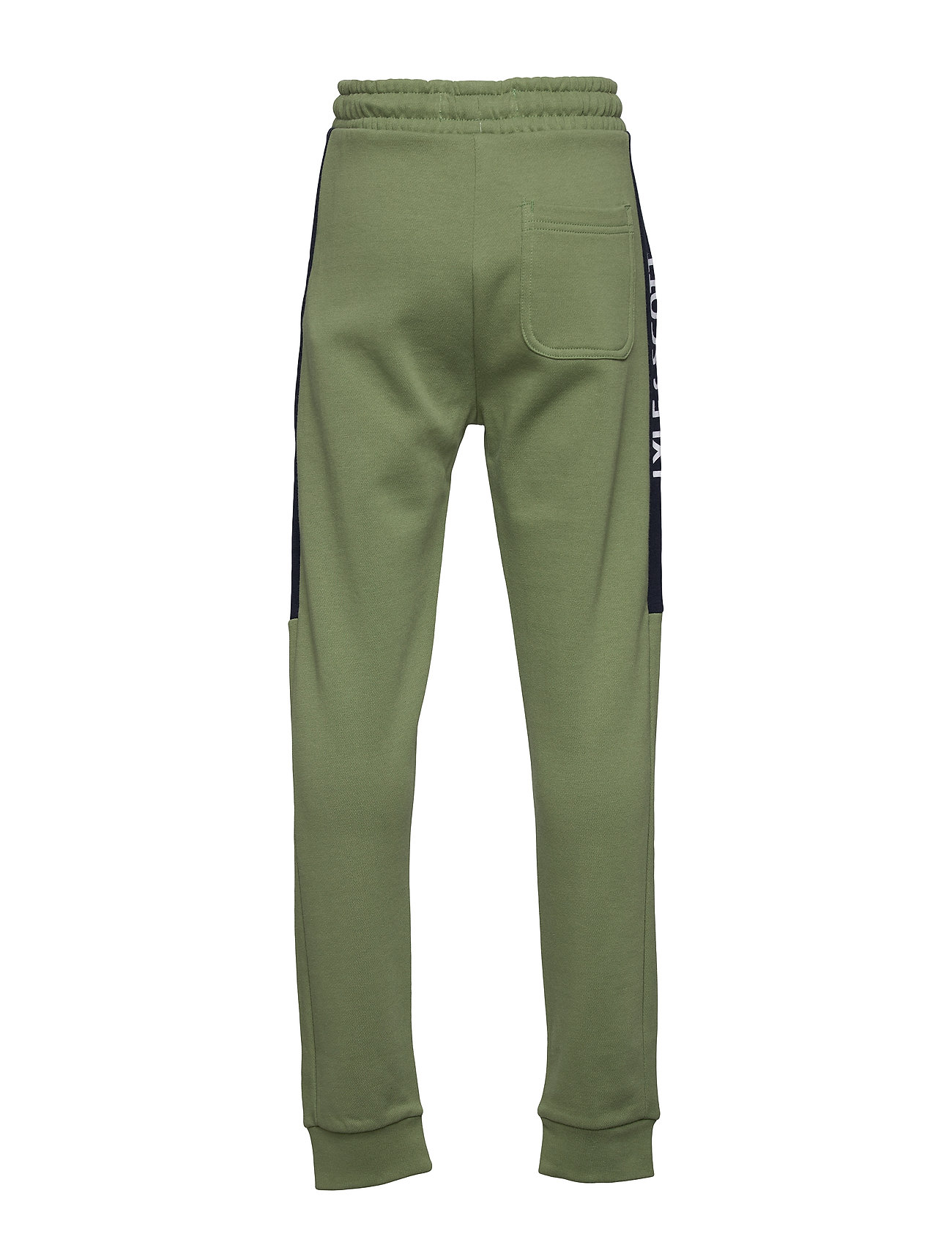 Lyle & Scott Junior - Lyle Panel BB Jog Hedge Green - sweatpants - hedge green - 1