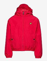 Lyle & Scott Junior - Zip Through Hooded Jacket - bomber jackets - tango red - 1