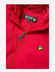 Lyle & Scott Junior - Zip Through Hooded Jacket - bomber jackets - tango red - 3
