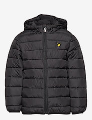 Lyle & Scott Junior - Lightweight Puffa Jacket - puffer & padded - black - 1