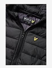 Lyle & Scott Junior - Light Weight Colour Block Jacket - puffer & padded - black - 5