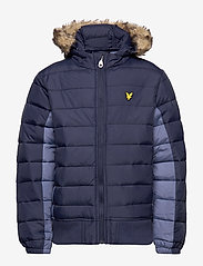 Lyle & Scott Junior - Light Weight Colour Block Jacket - puffer & padded - navy blazer - 1