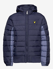 Lyle & Scott Junior - Light Weight Colour Block Jacket - puffer & padded - navy blazer - 2