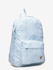 Lyle & Scott Junior - Pool Print Back Pack Blue Shore - backpacks - blue shore - 3
