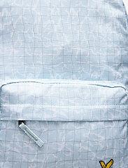 Lyle & Scott Junior - Pool Print Back Pack Blue Shore - backpacks - blue shore - 4