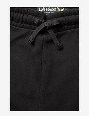 Lyle & Scott Junior - Zip Hem Block Logo Jogger - sweatpants - black - 3