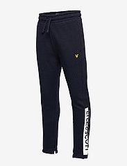 Lyle & Scott Junior - Zip Hem Block Logo Jogger - sweatpants - navy blazer - 2