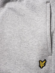 Lyle & Scott Junior - Zip Hem Block Logo Jogger - sweatpants - vintage grey heather - 4