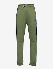 Lyle & Scott Junior - Lyle Panel BB Jog Hedge Green - sweatpants - hedge green - 0