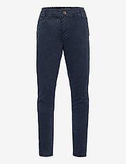 Lyle & Scott Junior - Elasticated Chino - trousers - navy blazer - 0