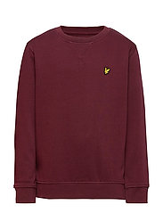 Plain Crew Neck Fleece - WINETASTING