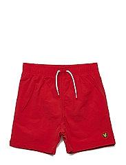 Classic Swim Shorts - TOMATO RED