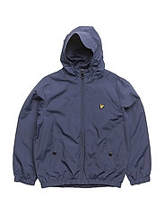 Lyle & Scott Windcheater Zip Through Hoodie Jacket - DEEP INDIGO