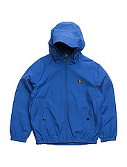 Lyle & Scott Windcheater Zip Through Hoodie Jacket - LAKE BLUE