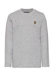 Classic L/S T-Shirt - VINTAGE GREY HEATHER
