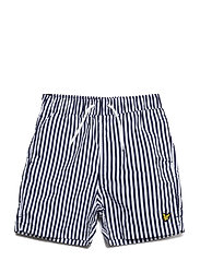 Vertical Stripe Boardshort - DEEP INDIGO
