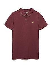 Classic Polo Shirt - CLARET JUG