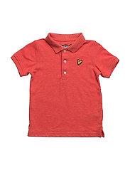 Classic Polo Shirt - FLASH ORANGE MARL