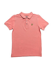Classic Polo Shirt - SUNSET PINK