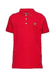 Classic Polo Shirt - TANGO RED